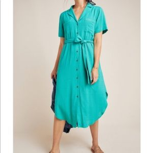 Shirt dress from Anthropologie - size S